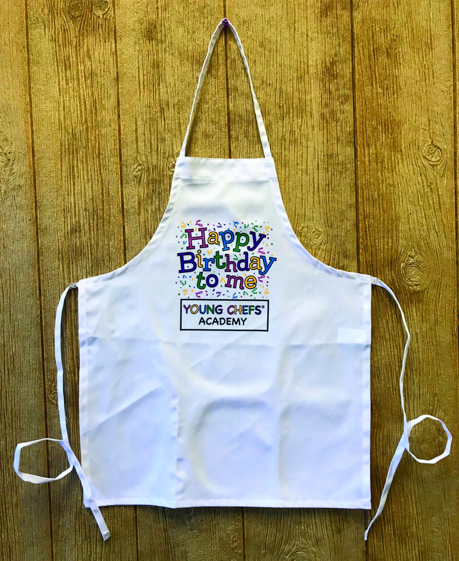 Apron Happy Birthday Young Chefs Academy